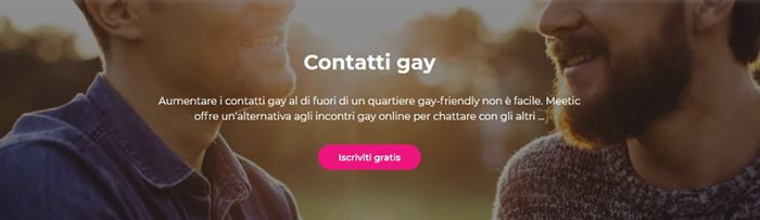 accesso solo ai contatti gay